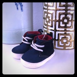 Baby Gap Blue Suede Shoes